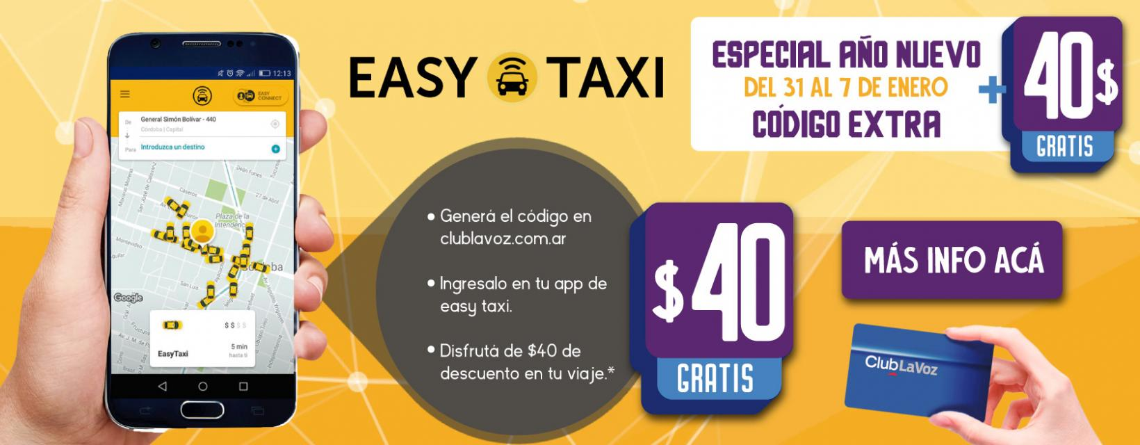 Easy taxi banner