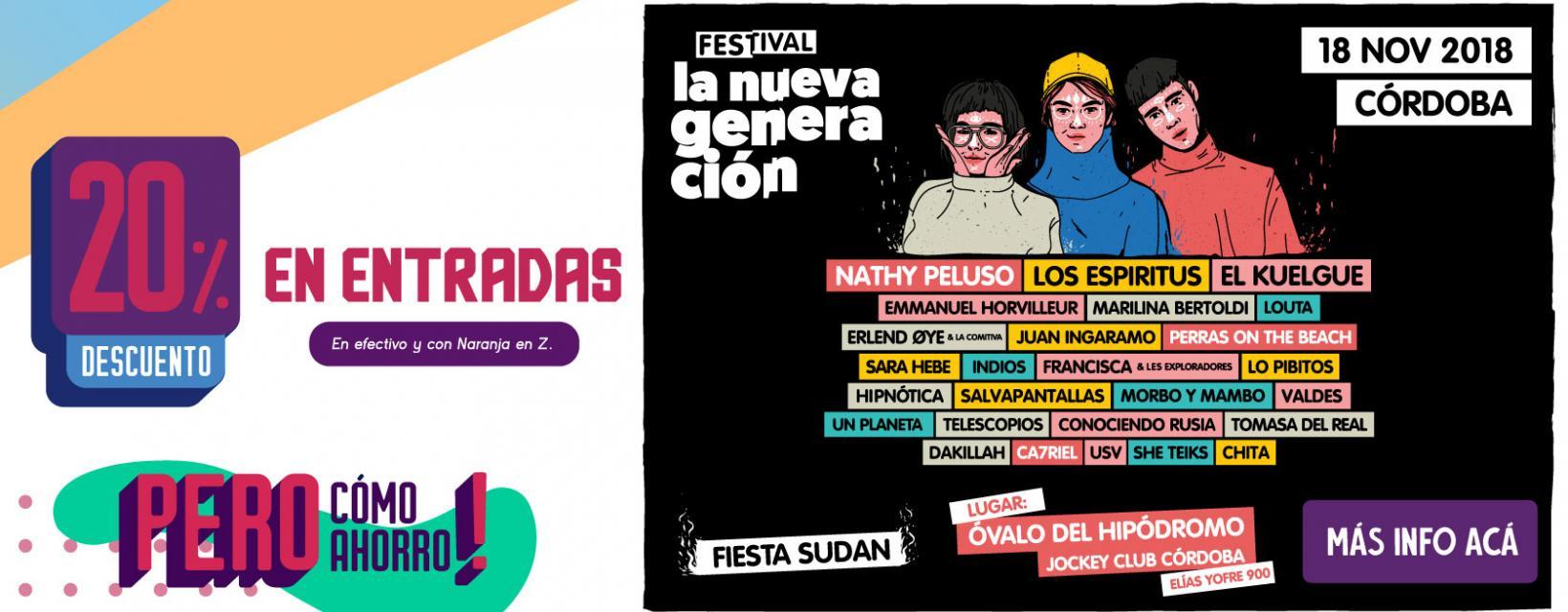 Festival La Nueva Generacion BANNER