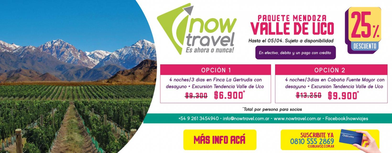 now travel banner