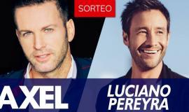 Ganadores de entradas para el show de Axel y Luciano Pereyra