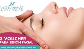 ¡Ganadores de vouchers faciales de Andrea Nahás!
