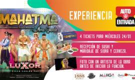 ¡Ganadores de la Experiencia Autoentrada para ver Mahatma!