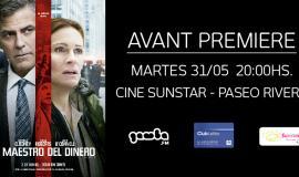 """¡Ganadores de entradas para la Avant Premiere de """"El maestro del Dinero""""!"""