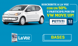 ¡SORTEO DE UN VW MOVE UP!