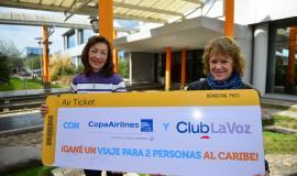 ¡Marta Zecchini se va al Caribe con su amiga gracias a Club La Voz!