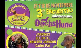 Ganadores de entradas para el Encuentro Internacional de perros salchichas