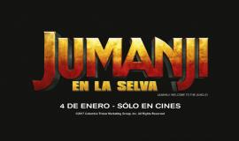 ¡Ganadores de entradas para ver Jumanji!