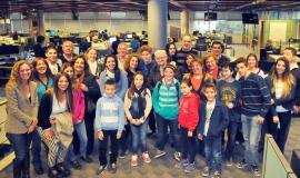 ¡Más de 25 socios de Club La Voz visitaron el diario en familia!