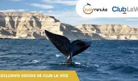 Ganadora de un viaje a Puerto Madryn
