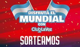 ¡Ganadora del Sorteo Mundial de Club La Voz!