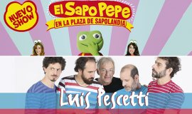 """Ganadores de entradas para el show de """"El Sapo Pepe"""" de y Luis Pescetti"""