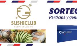 ¡Ganador de una degustación de las nuevas creaciones para 2 personas en SushiClub!