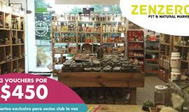 Ganadores de Zenzero Fit & Natural Market