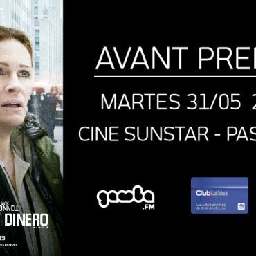 """¡Participá por entradas para la Avant Premiere de """"El maestro del  Dinero""""!"""