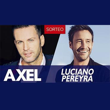 ¡Ganá entradas para el show de Axel y Luciano Pereyra!