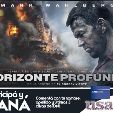 ¡Participá por entradas para la Avant Premiere de Horizonte Profundo!