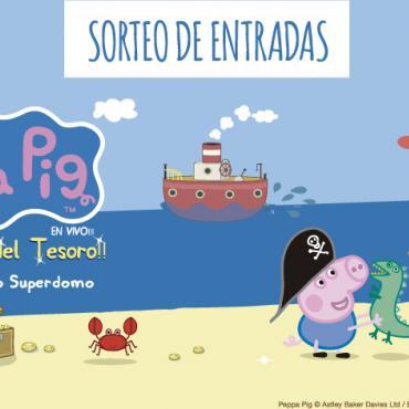 ¡Participá por entradas para el Show de Peppa Pig!