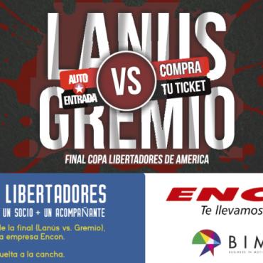¡Participá por un viaje para vivir la final de la Copa Libertadores!