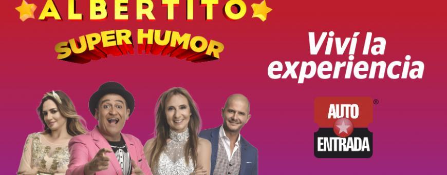 """¡Ganadores de la Experiencia Autoentrada para ver """"Albertito Súper Humor""""!"""